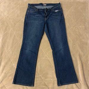 Old navy women's flirt jeans size 10 short